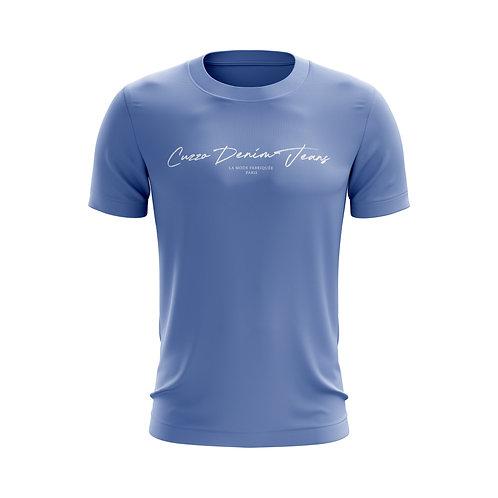 Cuzzo® Scripted (Carolina Blue-White)