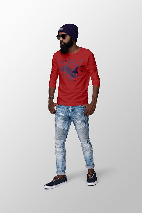 Cuzzo Soar Tee (Red) Long-sleeve
