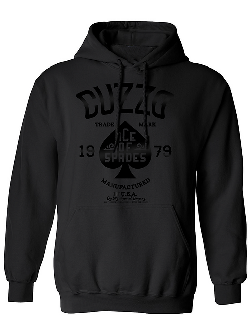 Cuzzo Ace of Spade Hoodie blk/blk