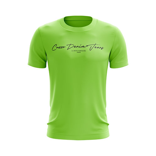 Cuzzo® Scripted (Neon Green-Black)