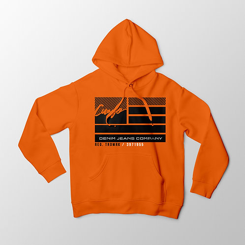 Cuzzo® Nation Flag Hoodie (Orange)