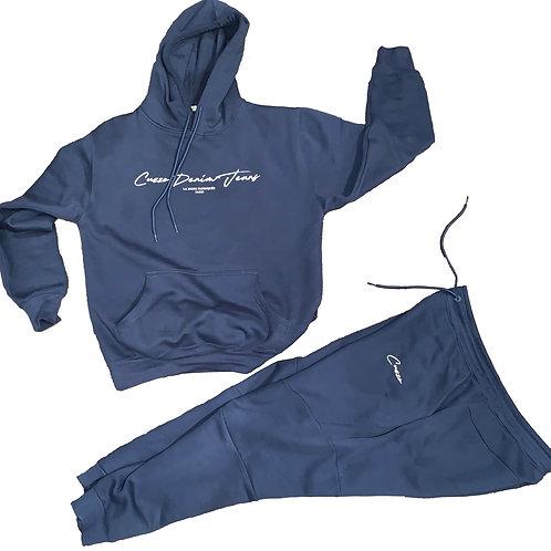 Cuzzo® Scripted Premium Jogger Set (Admiral Blue)