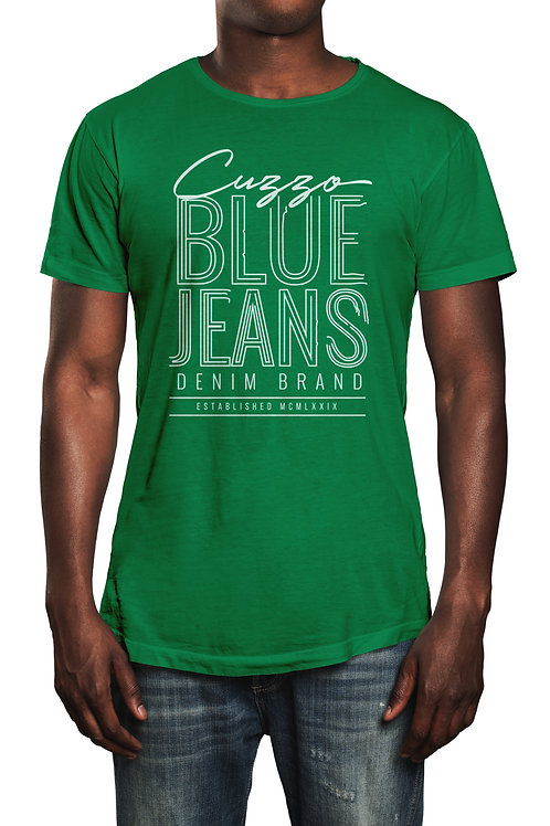 Cuzzo® Blue Jeans tee (Black-white)
