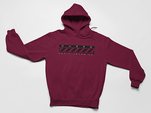 Cuzzo® Construct Hoodie (Maroon)