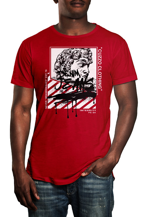Cuzzo® Brandwashed tee (Red)