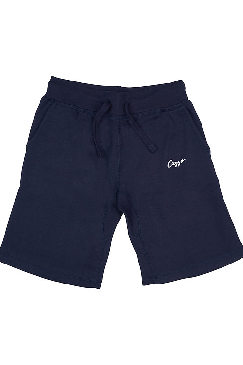 Cuzzo® Fleece Shorts Small Sig(Navy)