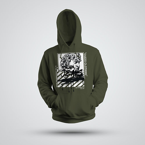 Cuzzo® Brandwashed Hoodie (Military Green)