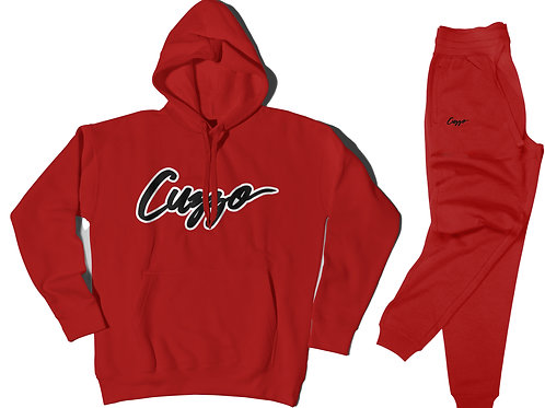 Cuzzo® Expanded Signature Jogger Set (Red)