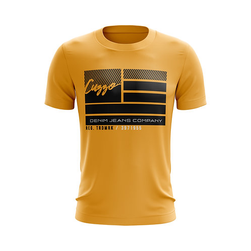 Cuzzo® Nation Flag Tee (Gold)
