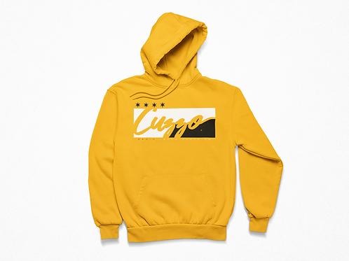 Cuzzo® Signature Block Hoodie  (Orange/Black)