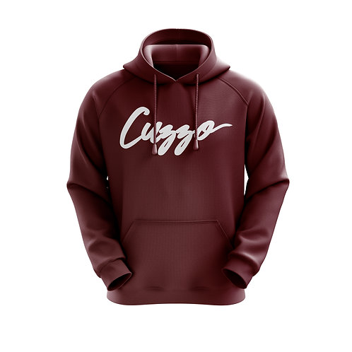 Cuzzo Signature Collection Hoodie (Maroon)