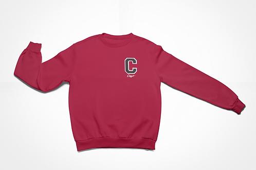 Cuzzo® Big C Sweatshirt (Red-Black)