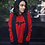 Thumbnail: Cuzzo® Black Signature Sweatshirt (Red)