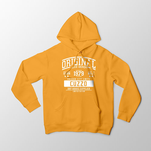 Cuzzo City-Limits Hoodie (Gold-White)