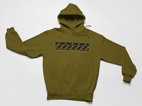 Cuzzo® Construct Hoodie (Military Green)