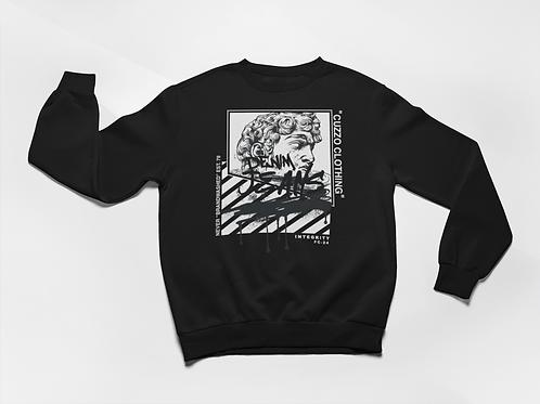 Cuzzo® Brandwashed Sweatshirt (Black)