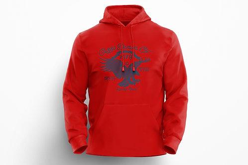 Cuzzo® Soar Hoodie (Red-Navy)