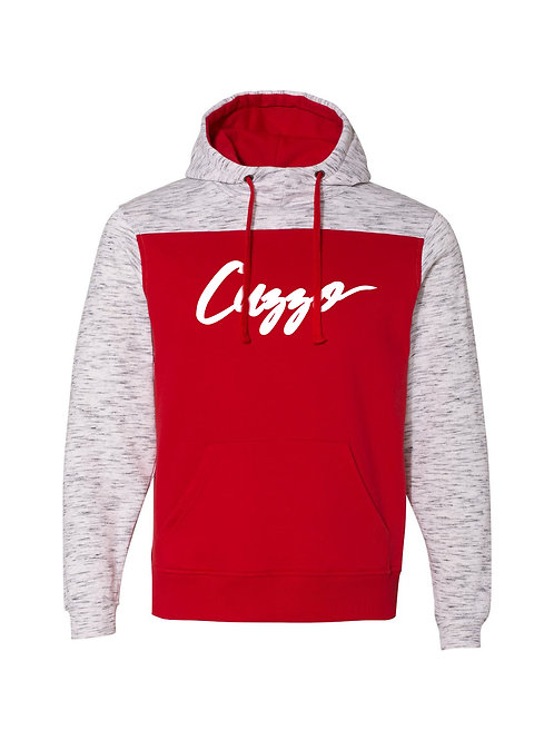 Cuzzo® EXCLUSIVE Takeover Hoodie (Red-Heather)