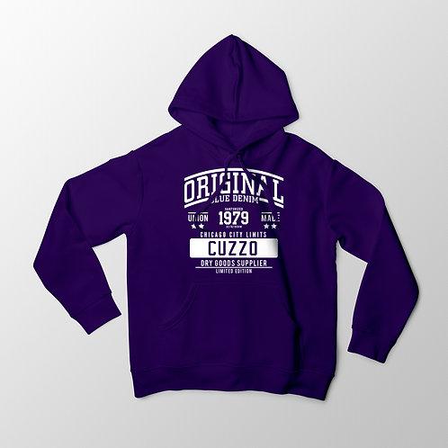 Cuzzo City-Limits Hoodie (Purple-White)
