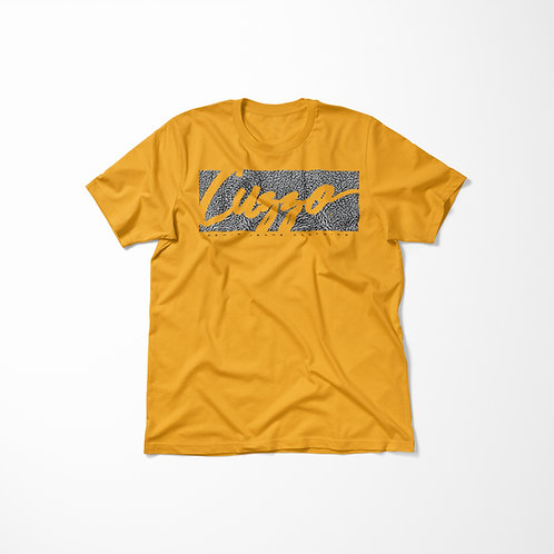 Cuzzo® Elephant Signature Block Tee (Gold)