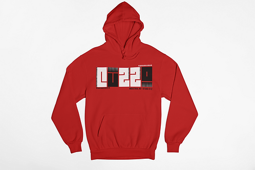 Cuzzo® BHM Hoodie (Red)