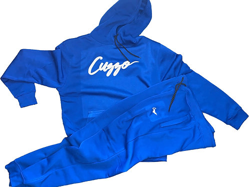 Cuzzo® Signature Jogger Set (Royal)