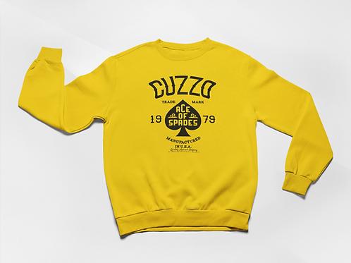 Cuzzo® Ace of Spades Sweatshirt (Gold-Black)
