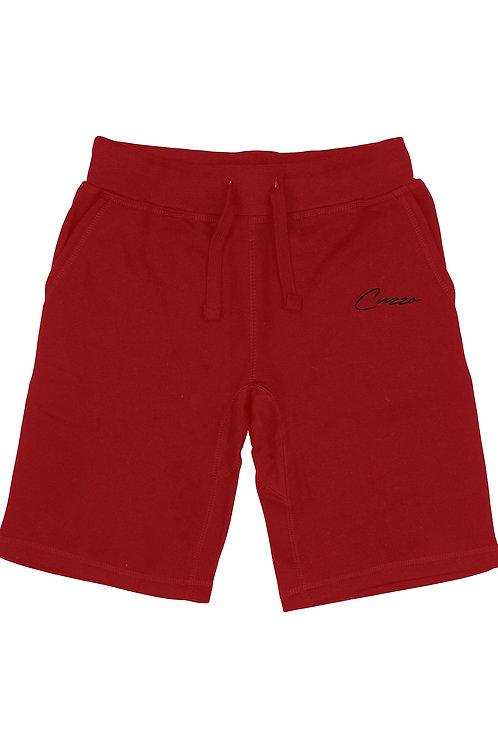 Cuzzo® Fleece Scripted (Cardinal Red-Black)