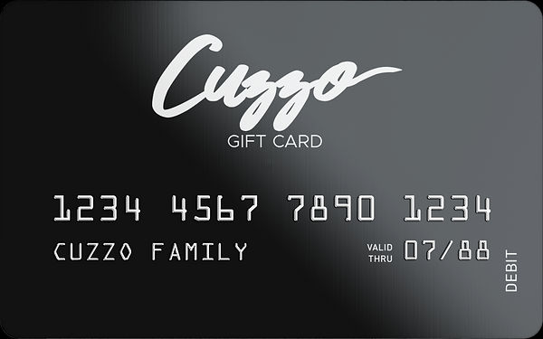 Cuzzo Gift Cards