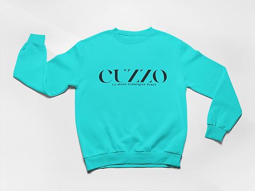 Cuzzo® Lux Sweatshirt (Scuba Blue)