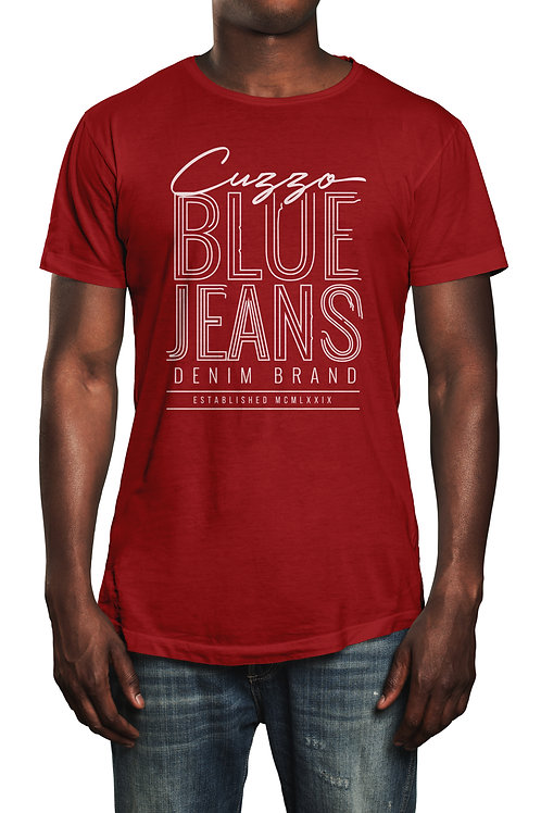 Cuzzo® Blue Jeans tee (Red-white)