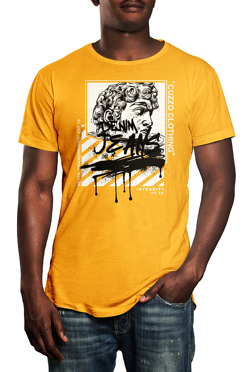 Cuzzo® Brandwashed tee (Gold)