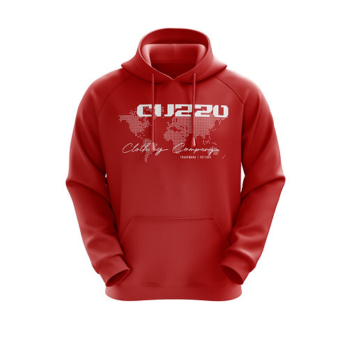 Cuzzo Worldwide Hoodie (Red)