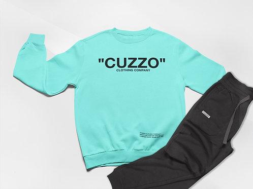 Cuzzo® Quote ME Jogger Set (Scuba Blue-Black)