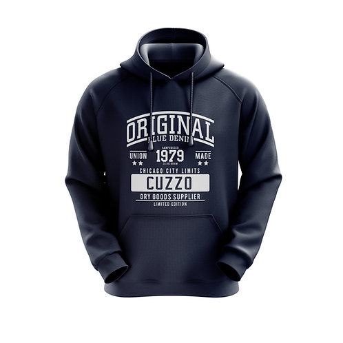 Cuzzo City-Limits Hoodie (Navy)