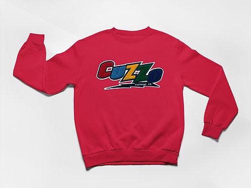 Cuzzo® Arc Sweatshirt (Red)