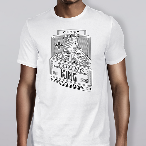 Cuzzo Young Kings Tee White