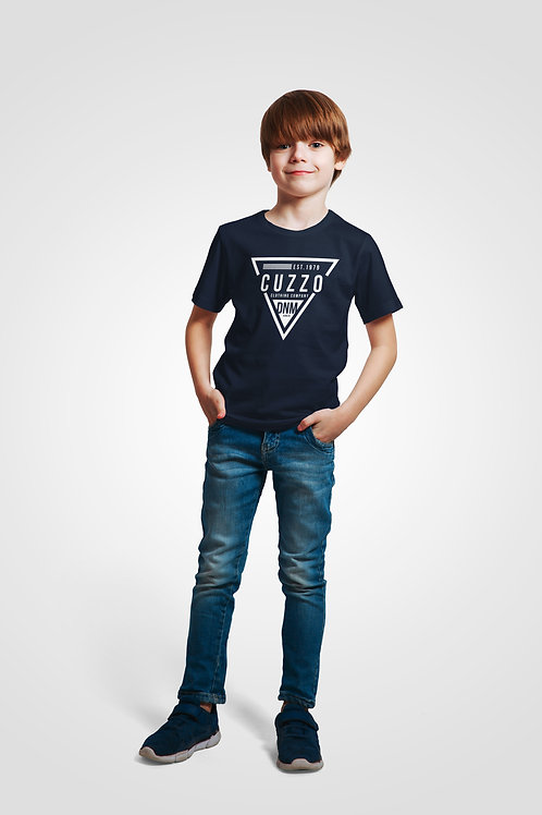 Boys Youth Flava Tee (Navy)
