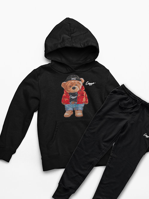 Cuzzo® Youth Cuzzy™ Jogger Set (Black)
