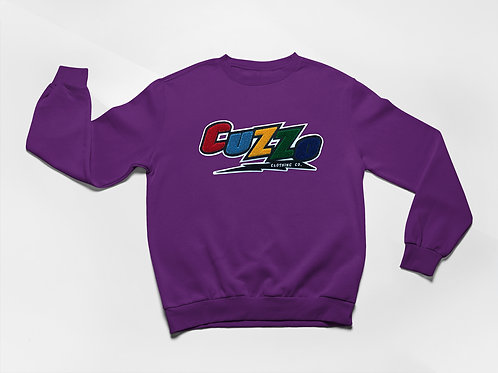 Cuzzo® Arc Sweatshirt (Purple)