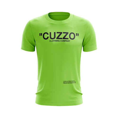 Cuzzo® Quote ME Tee (Neon Green)