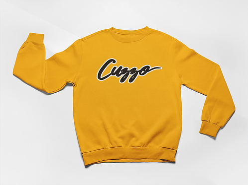 Cuzzo® Expanded Signature Sweatshirt (Gold)