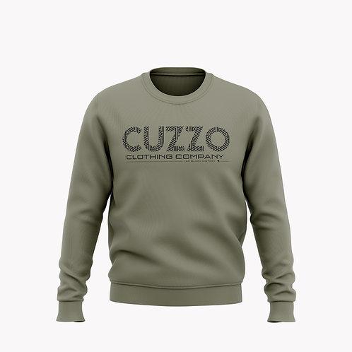 Cuzzo® I Am Black History Sweatshirt (Olive-Black)