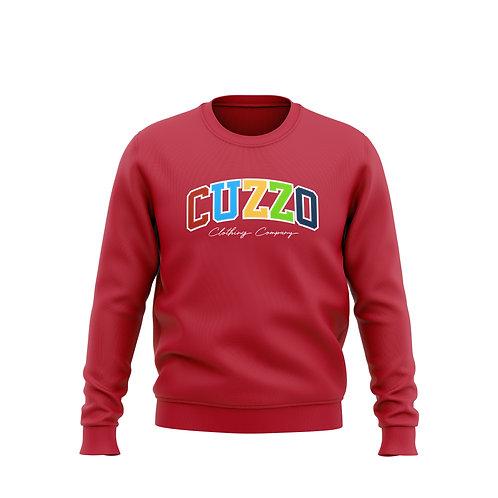 Cuzzo Vibrant Multi-Color (Red)