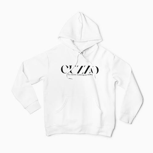Cuzzo® Lux Hoodie (White)