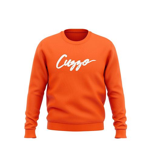Signature Crewneck Sweatshirt (Orange)
