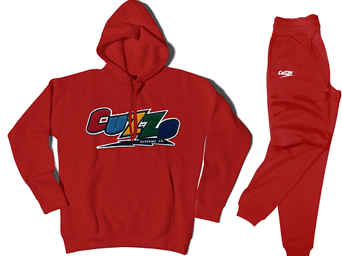 Cuzzo® Arc Jogger Set (Red)