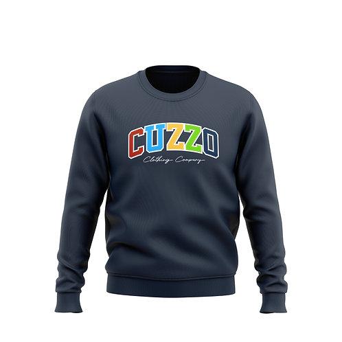 Cuzzo Vibrant Multi-Color (Navy)