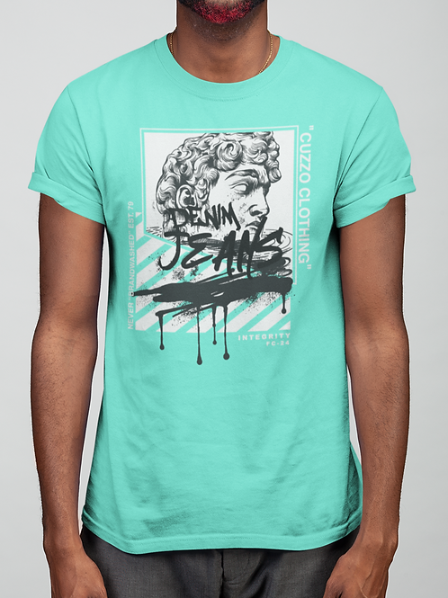 Cuzzo® Brandwashed tee (Mint)