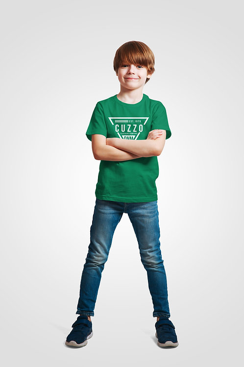 Boys Youth Flava Tee (Green)